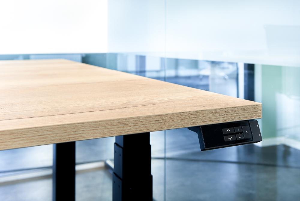 Ergonomische elektrische zit-sta bureaus Putten, flexwerkplek