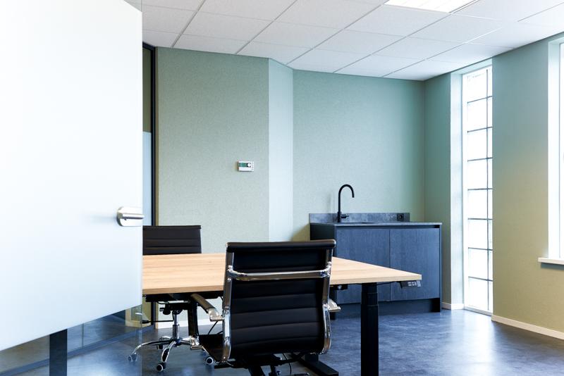 flexwerkplek, kantoor vergaderen putten